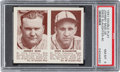 Baseball Cards:Singles (1940-1949), 1941 R330 Double Play Mize/Slaughter #39/40 PSA NM-MT 8....