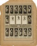 Basketball Collectibles:Photos, 1919 C.H.S. Basketball Imperial Cabinet Team Composite. ...