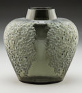 Art Glass:Lalique, R. Lalique Gray Glass Poivre Vase. Circa 1921. Molded R.LALIQUE Engraved France. M p. 417, No. 901. Ht....