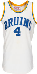 Basketball Collectibles:Uniforms, Late 1980s Trevor Wilson Game Worn UCLA Bruins Jersey...