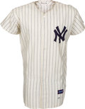 Baseball Collectibles:Uniforms, 1961 Ted Wieand Game Worn New York Yankees Jersey. ...