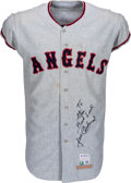 Baseball Collectibles:Uniforms, 1967 Jose Cardenal Game Worn California Angels Jersey....
