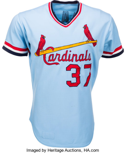online store eb7fb 947a3 1977 Keith Hernandez Game Worn St. Louis Cardinals Jersey ...