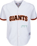 """Baseball Collectibles:Uniforms, 1980's William """"Bill"""" Terry Signed San Francisco Giants Jersey...."""