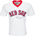 Baseball Collectibles:Uniforms, 1980's Rick Ferrell Signed Boston Red Sox Jersey. ...