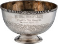 Hockey Collectibles:Others, 1952-53 Montreal Canadiens Stanley Cup Championship Bowl Presented to Maurice Richard. ...