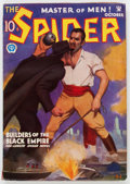 Pulps:Hero, The Spider - October 1934 (Popular) Condition: VG....