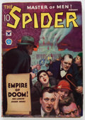 Pulps:Hero, The Spider - February 1934 (Popular) Condition: VG+....