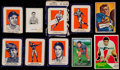 Football Cards:Lots, 1950's-1960's Wheaties, Bowman & Fleer Collection (43) With 1962 Post Panel....