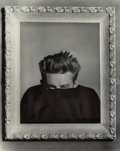 Photographs, Phil Stern (American, 1919-2014). James Dean, 1955. Gelatin silver, printed later. 12-3/4 x 10-1/4 inches (32.4 x 26.0 c...