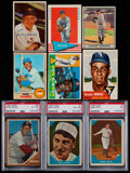 Baseball Cards:Lots, 1940-71 Multi-Brand Baseball Collection (124)....