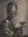 Photographs, Baron Adolf de Meyer (French, 1868-1949). The Cup, 1912. Photogravure on Japan paper. 8-3/8 x 6-3/8 inches (21.3 x 16.3 ...