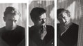 Photographs:Gelatin Silver, Roy Schatt (American, 1909-2002). James Dean (three photographs), 1954. Gelatin silver. one 12 x 7-1/2 inches (30.5 x 19...