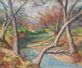 Texas:Early Texas Art - Impressionists, Ellie Wheeler (American, 20th Century). The Atascoosa. Oilon canvas. 17-3/8 x 21 inches (44.1 x 53.3 cm). Signed lower ...