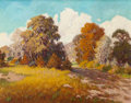 Texas:Early Texas Art - Impressionists, Walton Leader (American, 1877-1966). Autumn Woods. Oil oncanvas. 23 x 29-1/2 inches (58.4 x 74.9 cm). Signed lower righ...