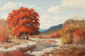 Texas:Early Texas Art - Impressionists, Palmer Chrisman (American, 1913-1984). Fall Landscape. Oilon canvas. 24 x 35-3/4 inches (61.0 x 90.8 cm). Signed lower ...