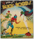 Big Little Book:Mystery, The Pop-Up Buck Rogers - Strange Adventures in the Spider-Ship(Blue Ribbon Press, 1935) Condition: FN-....