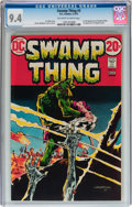 Bronze Age (1970-1979):Horror, Swamp Thing #3 (DC, 1973) CGC NM 9.4 Off-white to white pages....