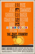 """Movie Posters:Western, The Big Country (United Artists, 1958). Saul Bass One Sheet (27"""" X 41""""). Western.. ..."""