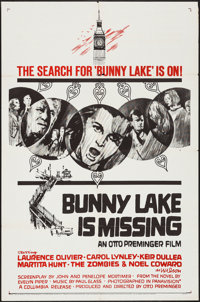 "Bunny Lake is Missing (Columbia, 1965). One Sheet (27"" X 41"") Style B. Mystery"