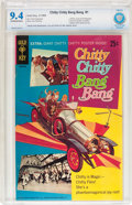 Silver Age (1956-1969):Adventure, Chitty Chitty Bang Bang #1 (Gold Key, 1968) CBCS NM+ 9.6 Off-white pages....