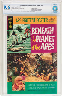 Beneath the Planet of the Apes #nn (Gold Key, 1970) CBCS NM+ 9.6 Off-white to white pages