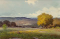 Texas:Early Texas Art - Impressionists, Jerry Ruthven (American, b. 1947). Hill Country View, 1978.Oil on canvas. 24 x 36 inches (61.0 x 91.4 cm). Signed and d...