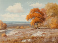 Texas:Early Texas Art - Impressionists, Palmer Chrisman (American, 1913-1984). Autumn River. Oil on canvas. 18 x 24 inches (45.7 x 61.0 cm). Signed lower right:...