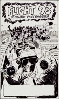 Original Comic Art:Miscellaneous, John Romita Sr. Flight 93 Preliminary Artwork Original Art(c. 2011)....