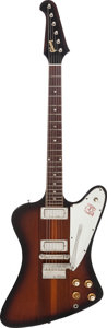 Musical Instruments:Electric Guitars, 1964 Gibson Firebird III Sunburst Solid Body Electric Guitar,Serial # 183111....