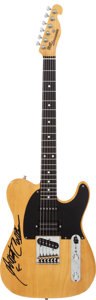 Musical Instruments:Electric Guitars, Albert Collins Signed 1970's Bill Lawrence Tele Butterscotch SolidBody Electric Guitar, Serial # B06815....
