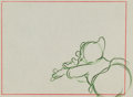 Animation Art:Production Drawing, Snow White and the Seven Dwarfs Happy Animation Drawing(Walt Disney, 1937)....