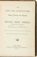 Books:Biography & Memoir, [Charles G. Halpine]. The Life and Adventures, Songs, Services, and Speeches of Private Miles O'Reilly. New York: Ca...