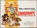 "Movie Posters:Adventure, Raiders of the Lost Ark (CIC, 1981). British Quad (30"" X 40"").Adventure.. ..."