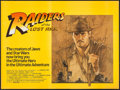 "Movie Posters:Adventure, Raiders of the Lost Ark (CIC, 1981). British Quad (30"" X 40"") Style A. Adventure.. ..."