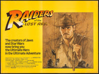 "Raiders of the Lost Ark (CIC, 1981). British Quad (30"" X 40"") Style A. Adventure"