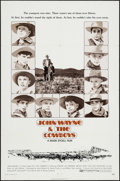 "Movie Posters:Western, The Cowboys (Warner Brothers, 1972). One Sheet (27"" X 41""). Western.. ..."