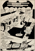 "Original Comic Art:Splash Pages, Trevor Von Eeden and Pablo Marcos Batman #347 ""Shadow of theBatman"" Title/Splash Page 1 Original Art (DC, 1982)...."