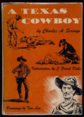 Books:Americana & American History, [Tom Lea]. Charles A. Siringo. A Texas Cowboy. New York:William Sloane Associates, [1950]. ...