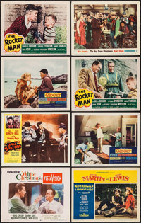 """White Christmas & Others Lot (Paramount, 1954). Lobby Cards (13) (11"""" X 14"""") & Trimmed Lobby C..."""