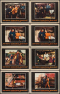 "Movie Posters:Action, Blood Alley (Warner Brothers, 1955). Lobby Cards (8) (11"" X 14"").Action.. ... (Total: 8 Items)"