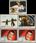 "Movie Posters:Adventure, Island in the Sky & Other Lot (Warner Brothers, 1953). LobbyCards (11) (11"" X 14""). Adventure.. ... (Total: 11 Items)"