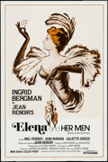 """Movie Posters:Foreign, Elena and Her Men & Others Lot (Interama, R-1988). One Sheets (2) (27"""" X 41"""") and Poster (21"""" X 30""""). Foreign.. ... (Total: 3 Items)"""