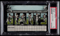 Baseball Collectibles:Others, 1905 N.Y. Giants Color Scorecard Postcard PSA EX 5....