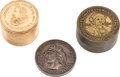 "General Historic Events:Expos, World's Columbian Exposition: Three ""Numismatic"" Souvenirs.... (Total: 3 Items)"