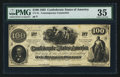 Confederate Notes:1862 Issues, CT41/316A-1 Counterfeit $100 1862.. ...