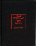 Books:Art & Architecture, Joan Sutherland, subject. Richard Bonynge, author. SIGNED/LIMITED.Joan Sutherland: Designs for a Prima Donna. T...