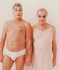 Photographs, Annie Leibovitz (American, b. 1949). Tony Curtis and Jack Lemmon, Los Angeles, 1995. Dye coupler. 15 x 12-3/4 inches (38...