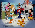 Animation Art:Seriograph, Mickey Mouse and Friends Exclusive Studio Serigraph (WaltDisney, 1992)....