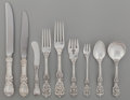 Silver Flatware, American:Reed & Barton, A One-Hundred-and-Twenty-Two Piece Reed & Barton FrancisI Pattern Silver Flatware Service for Twelve, Taunton, ...(Total: 122 Items)